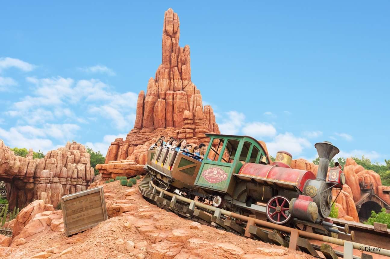 Tokyo Disneyland Big Thunder Mountain