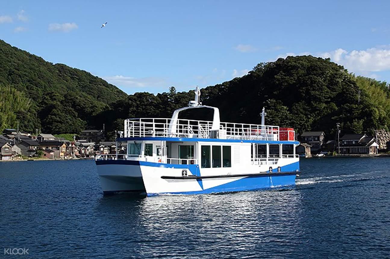 海之京都天橋立、丹後半島伊根町、伊根灣遊船一日遊