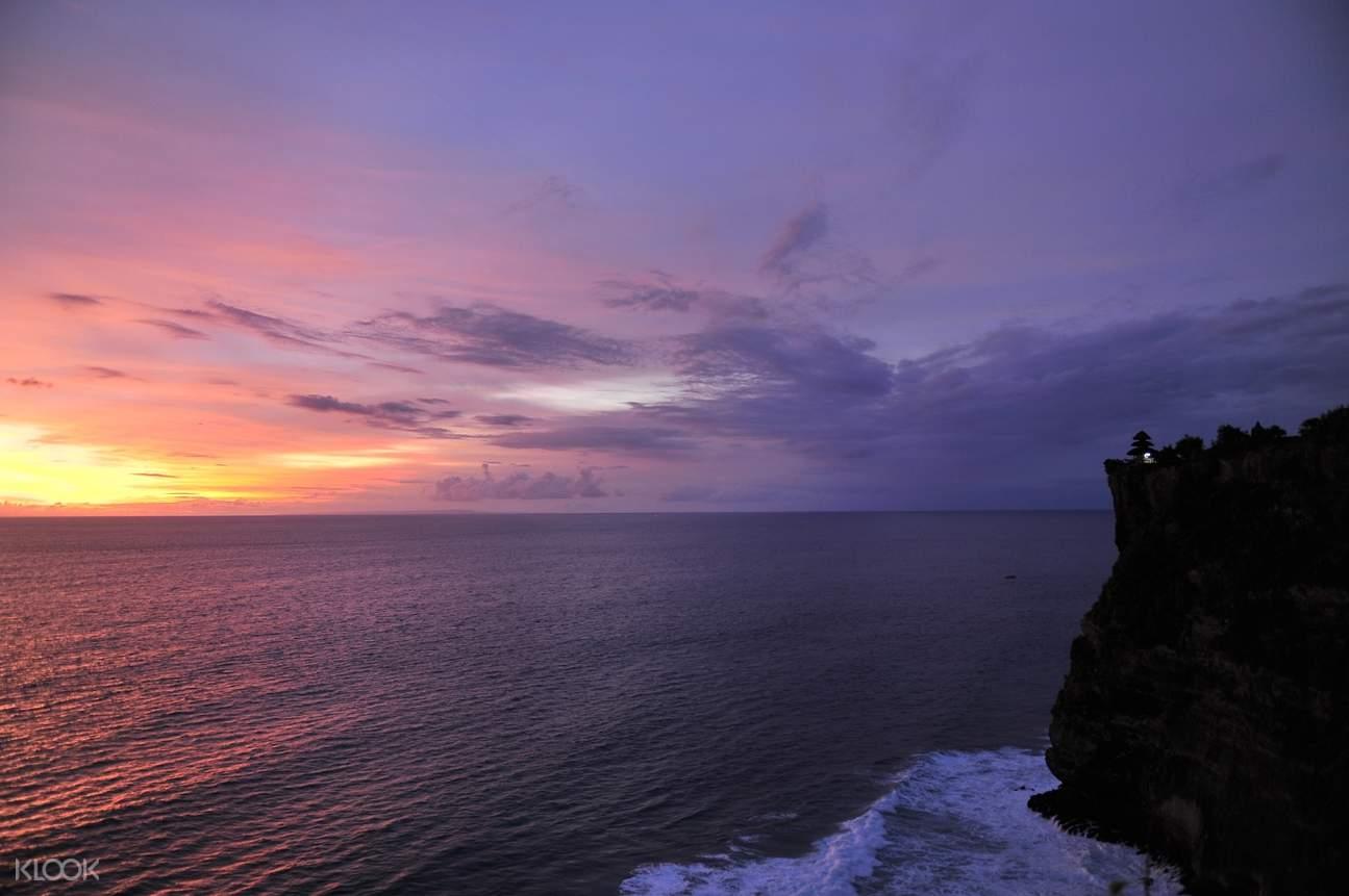 烏魯瓦圖神廟夕陽美景