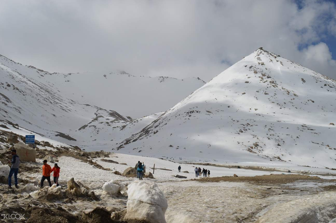 Snow Capped mountain of Leh