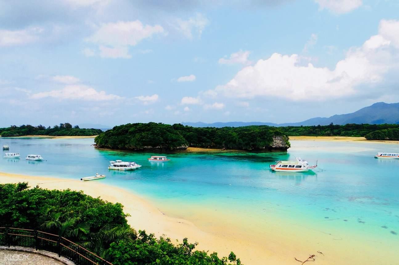川平湾の景色