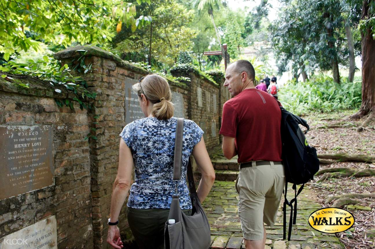 The Original Singapore Walks Half Day Tour at Battlebox and Fort Canning Hill