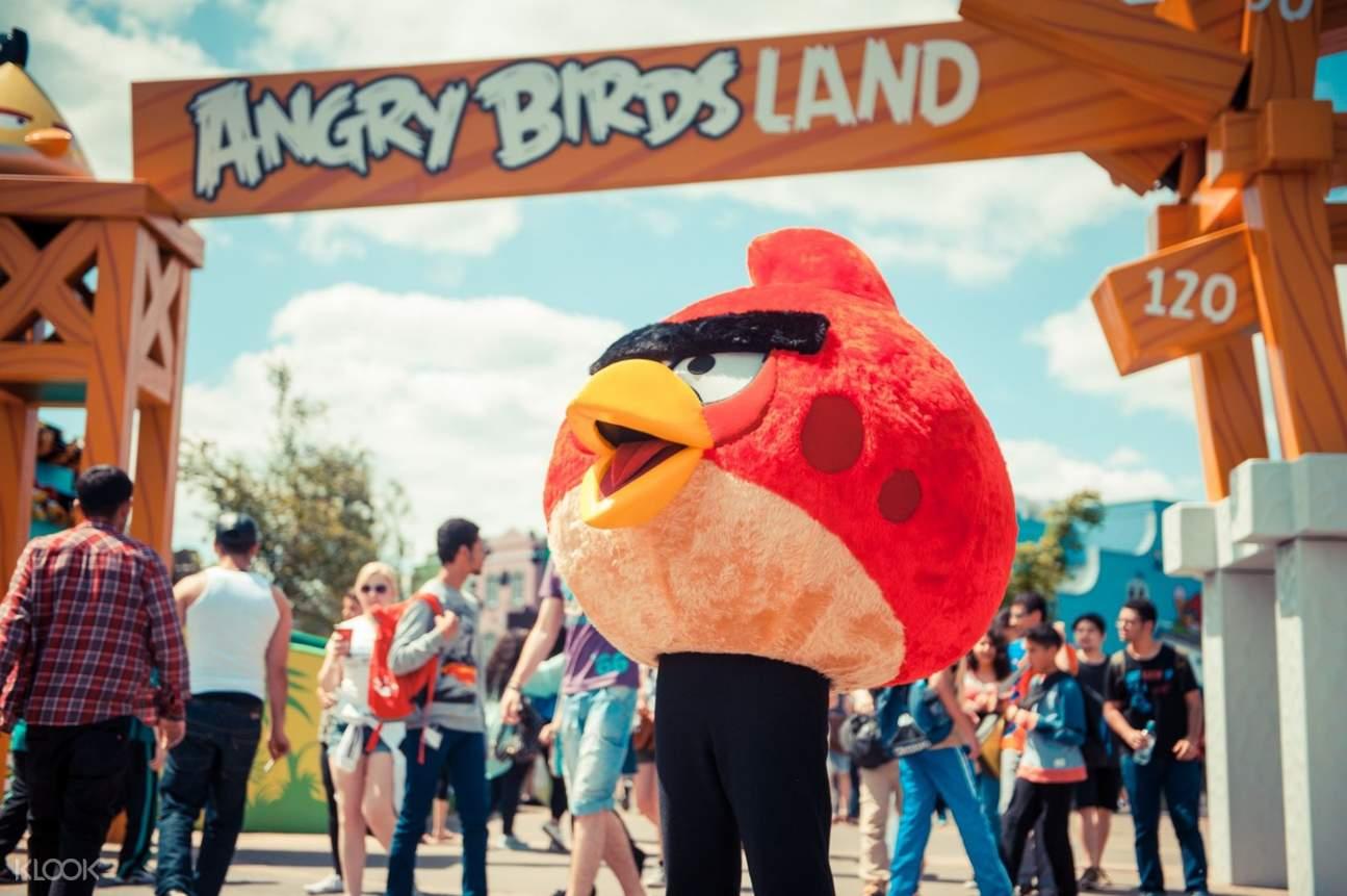 THORPE PARK Resort angry birds land