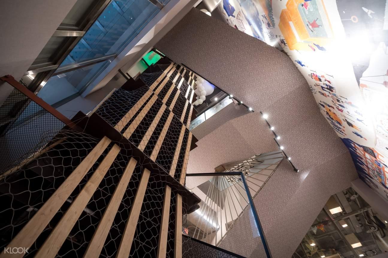 奧森兒童博物館攀爬區