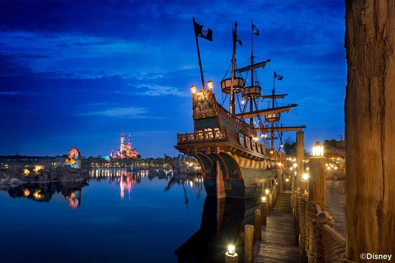 บัตรเข้าสวนสนุก Shanghai Disneyland