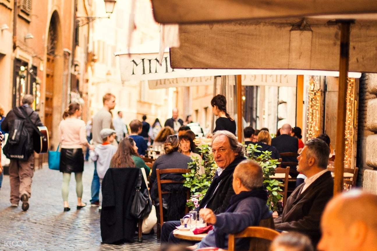 rome cafe culture