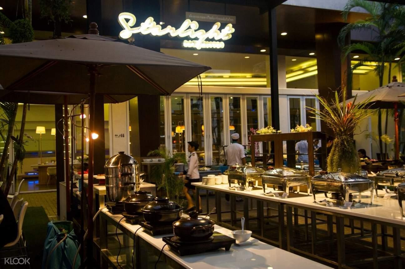 international bbq buffet dinner a-one star hotel pattaya
