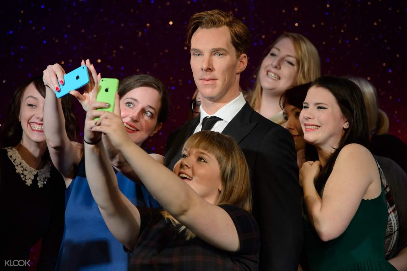 Benedict Cumberbatch madame tussauds