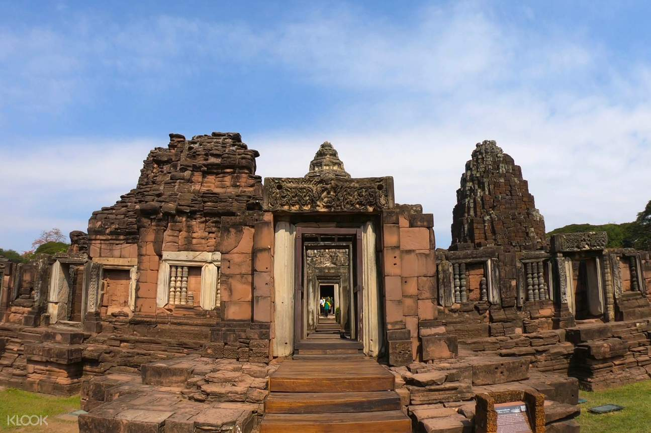 a temple in Phimai Historical Park