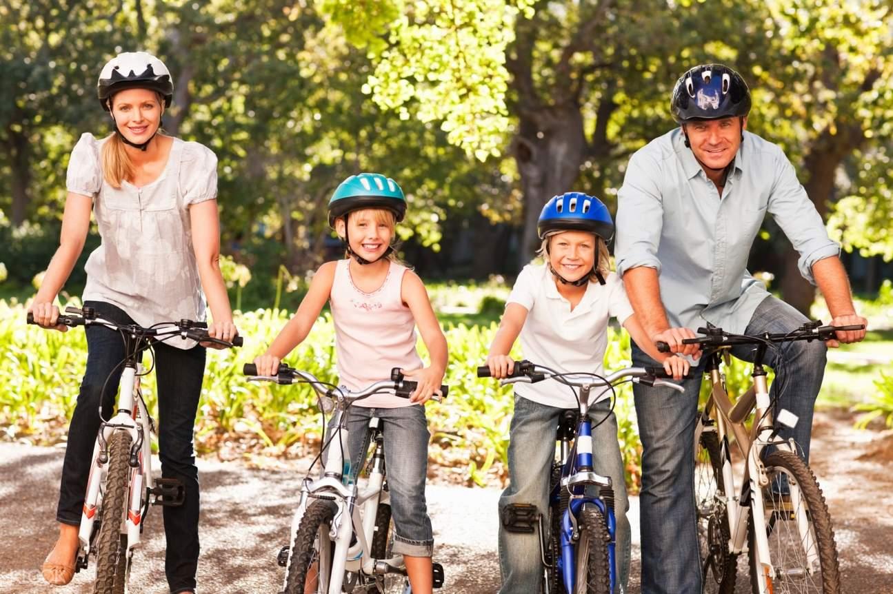 中央公園腳踏車全天租借