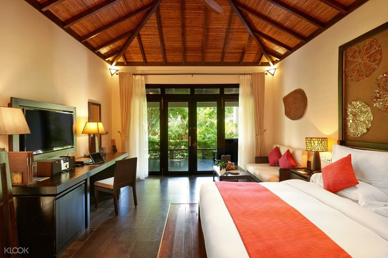 phòng deluxe tại amiana resort nha trang