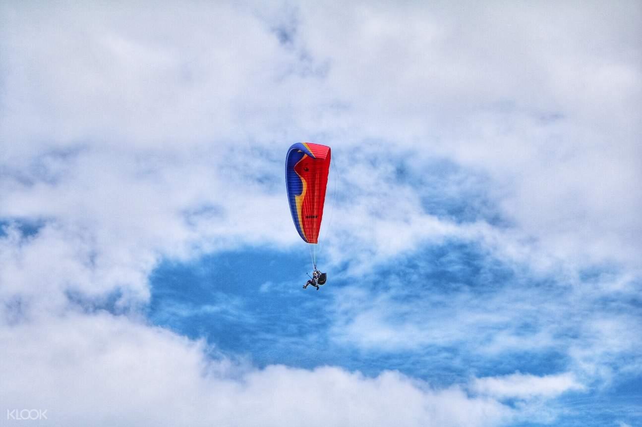 花蓮滑翔傘飛行體驗