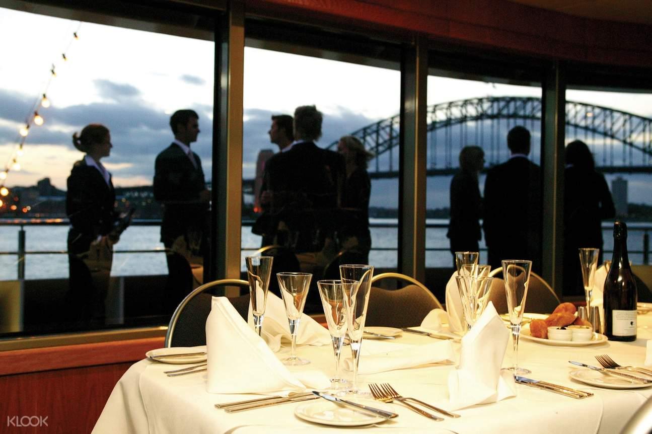 sydney harbor gold penfolds dinner cruise
