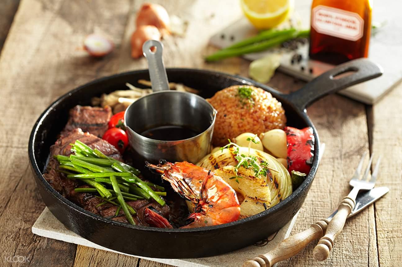 KITCHEN LAB Top blade steak Myeongdong Seoul