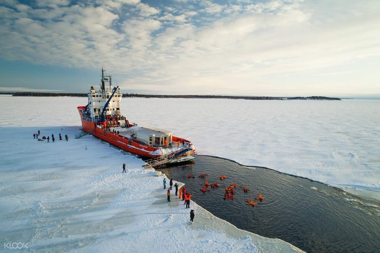 羅瓦涅米極地破冰,拉普蘭破冰船,瑞典破冰船