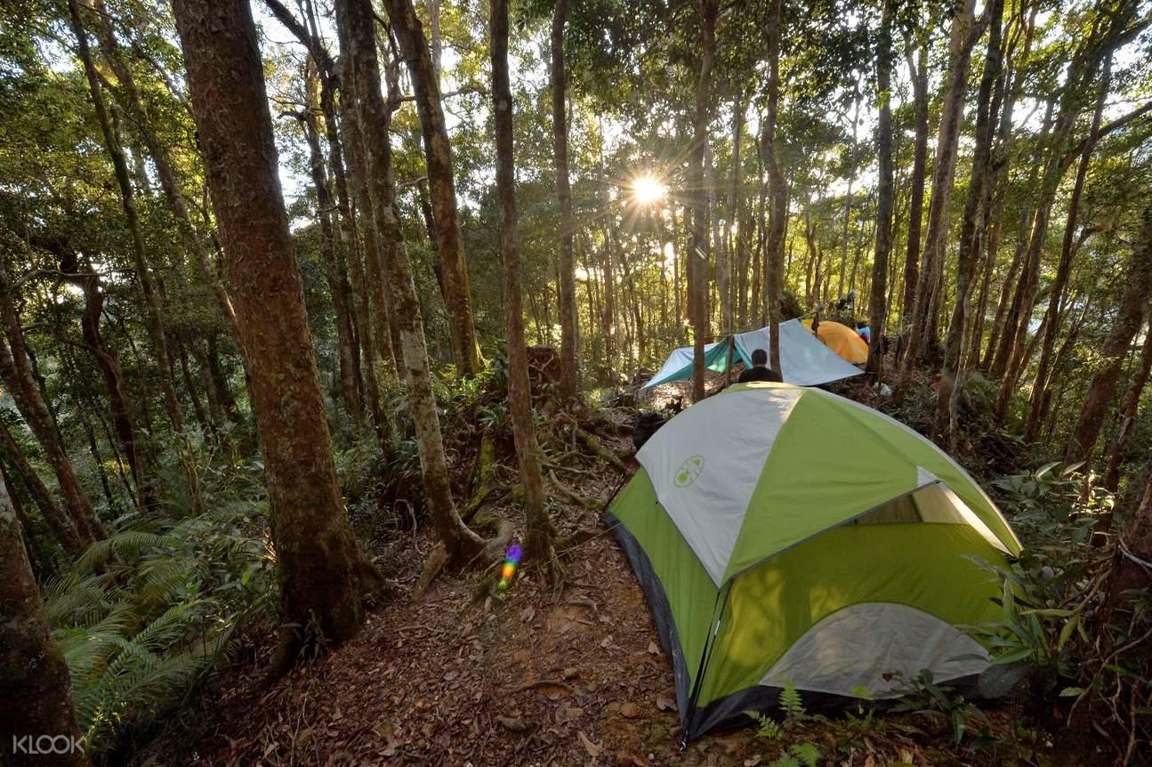 mount kinabalu camping