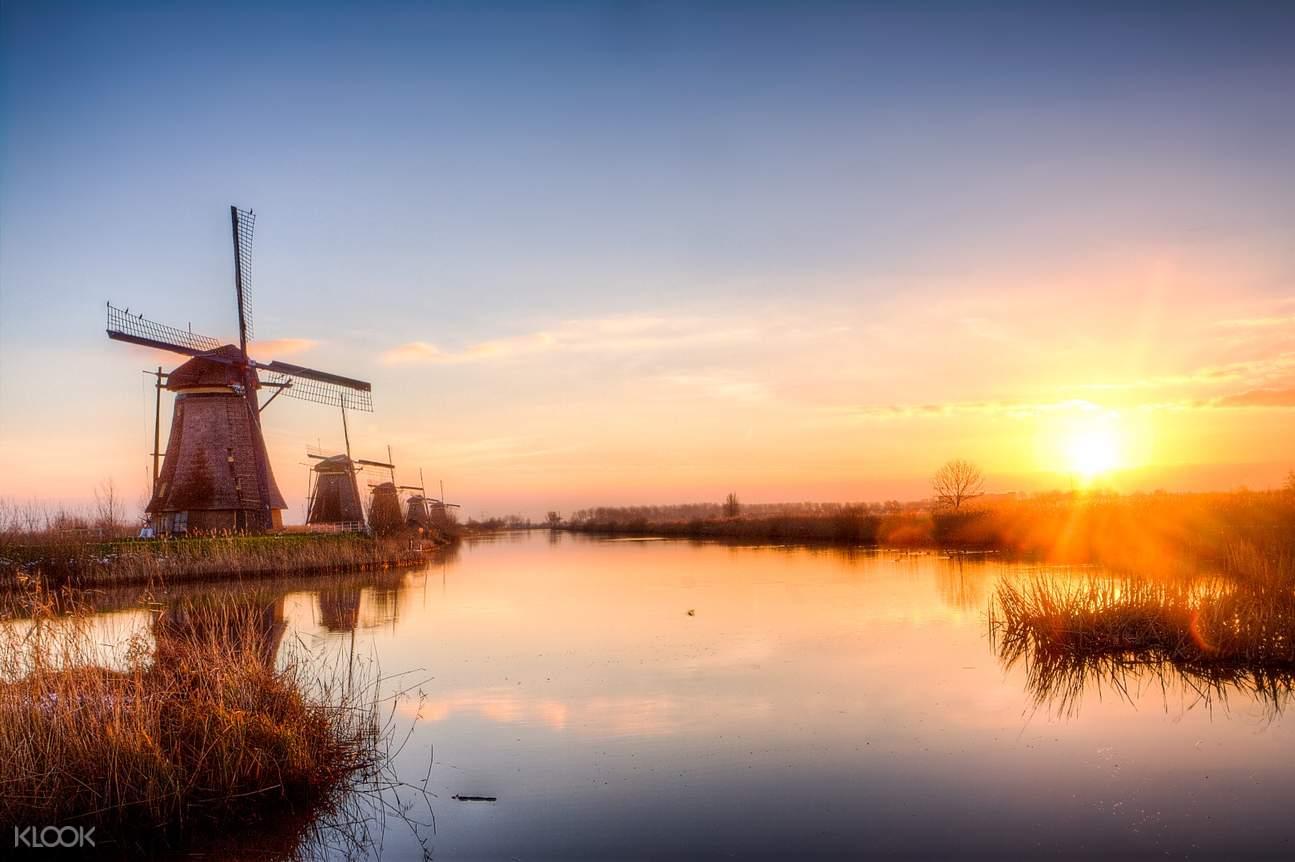 Kinderdijk tour