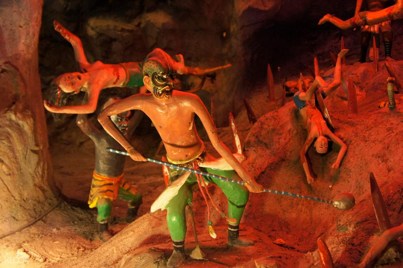 10 Courts of Hell at Haw Par Villa Walking Tour