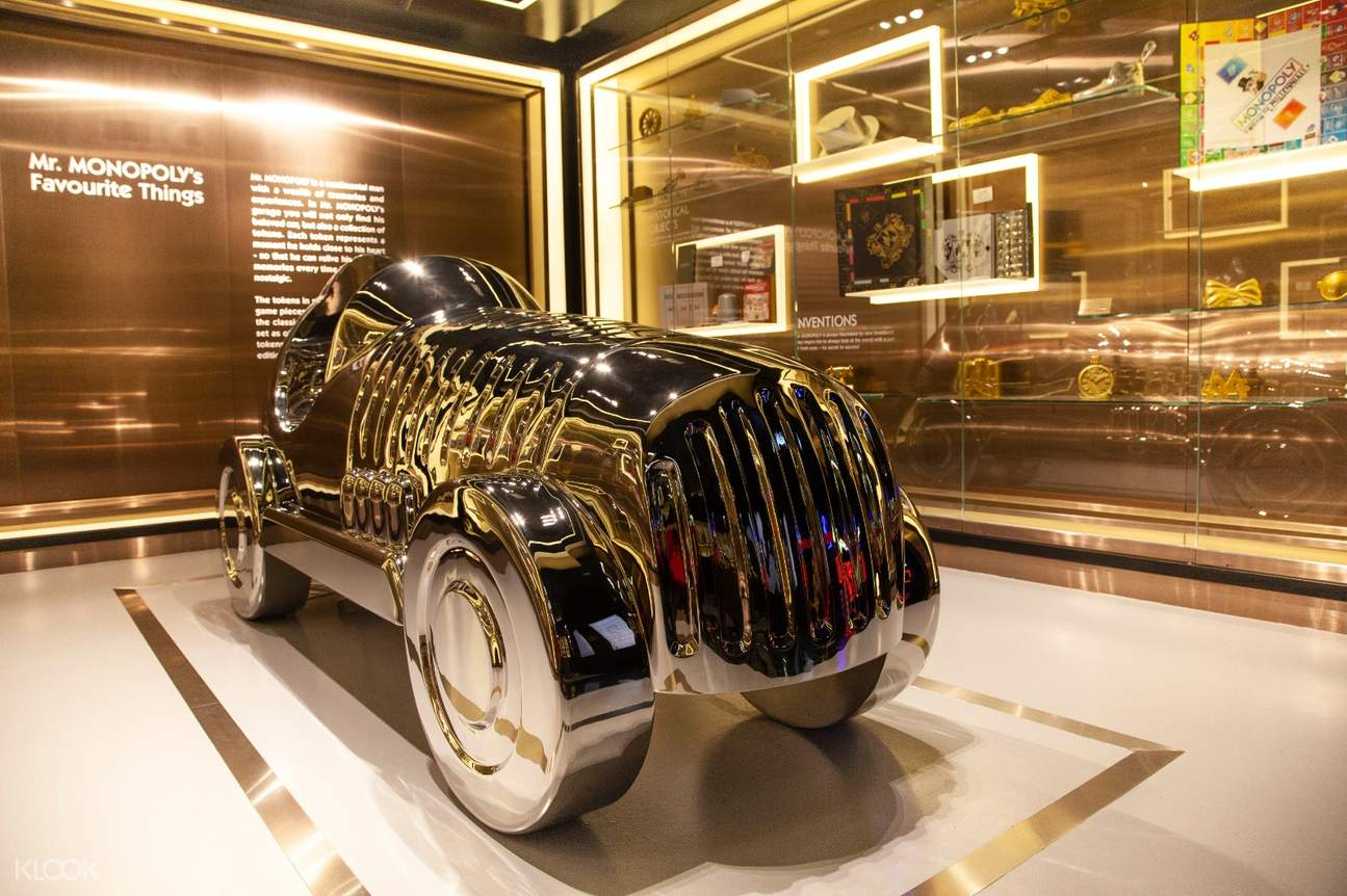 近距離欣賞大富翁先生最愛的豪車