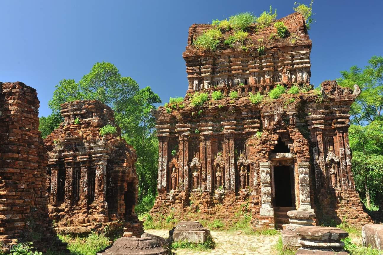 美山聖地印度教寺廟古塔
