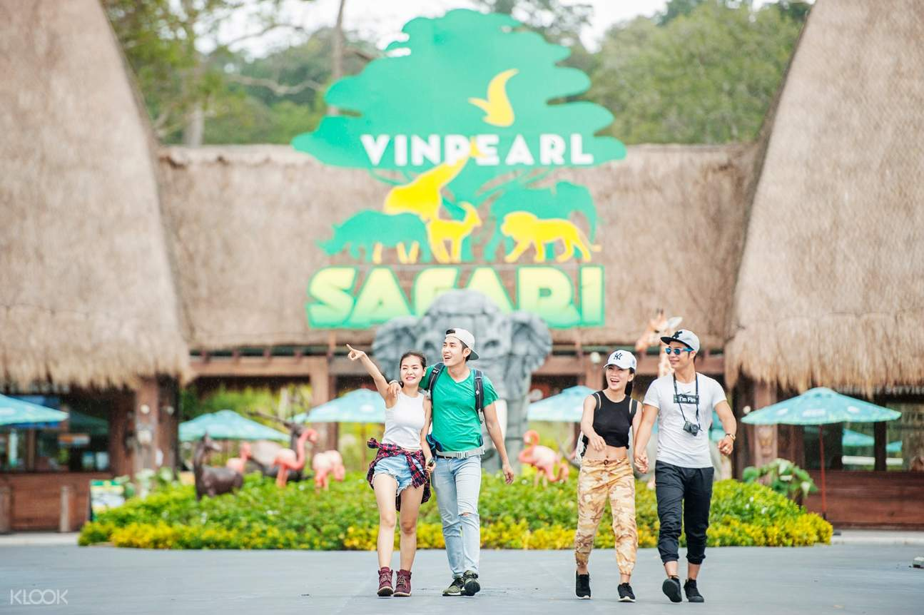 Vinpearl Safari Phu Quoc entrance