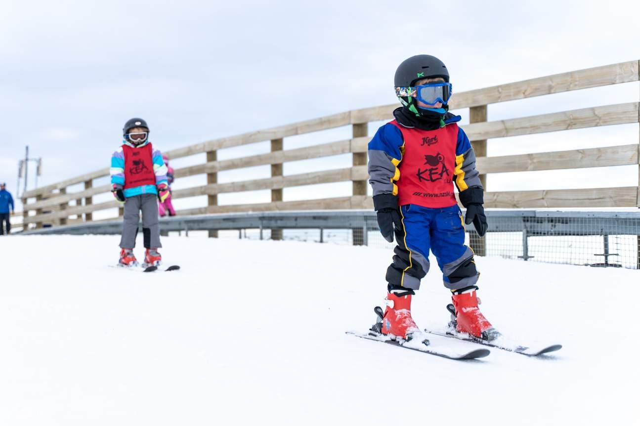 Beginner ski lessons Coronet Peak