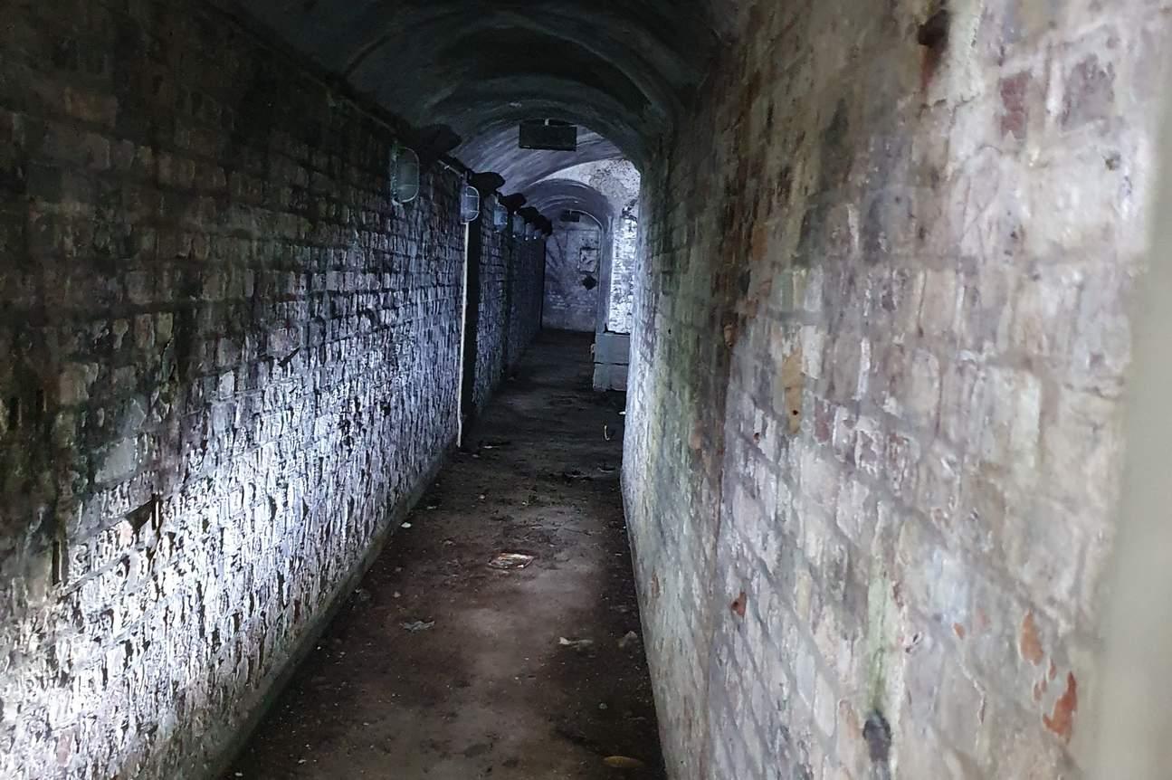 bunker area in Labrador Park