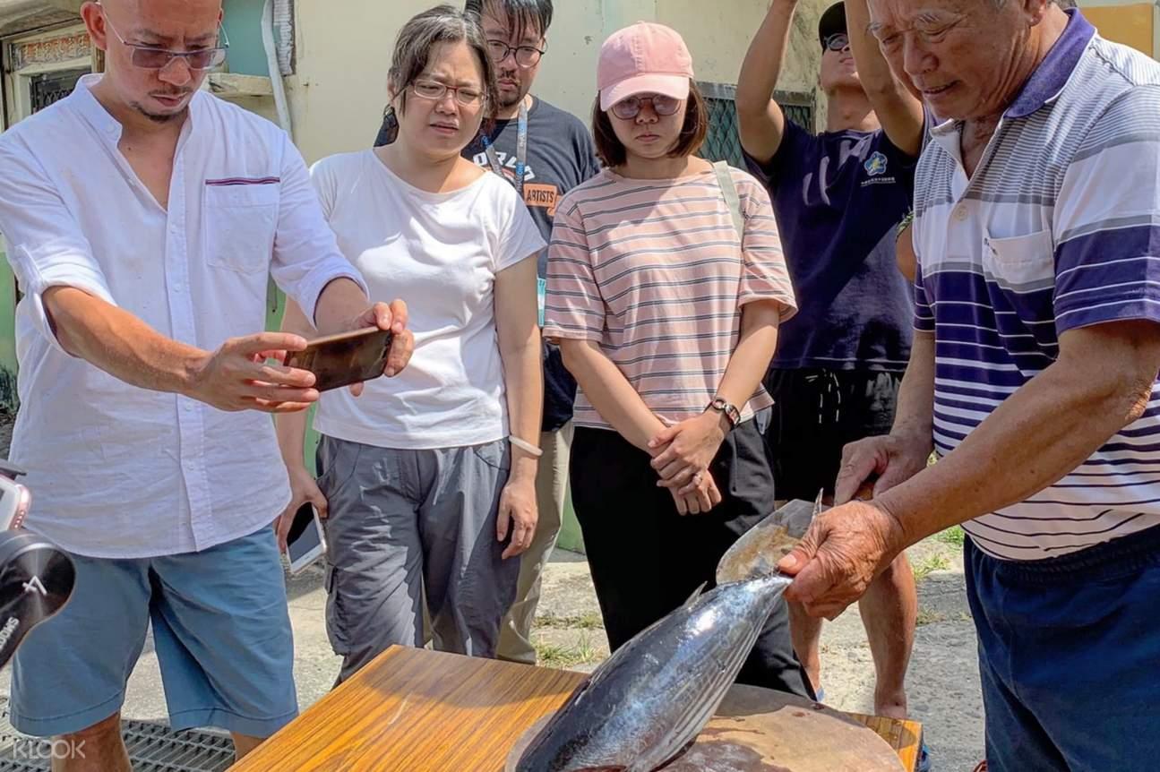 鰹魚被視為製作頂級柴魚的魚種,綠島為鰹魚洄游流經之地