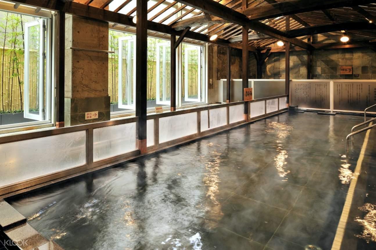hot spring at Iyonotojiba Kisuke No Yu Onsen