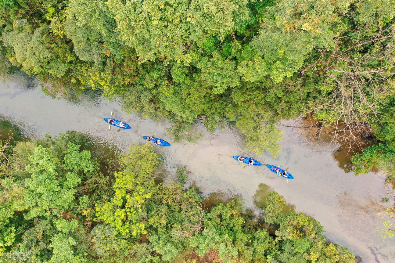 Day Tour Trekking and Kayaking to Explore Tra Ang