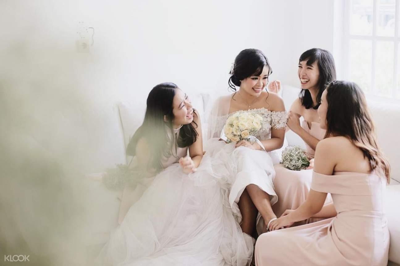 Women during bridal shower