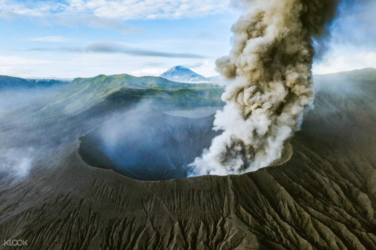 overview of bromo crater