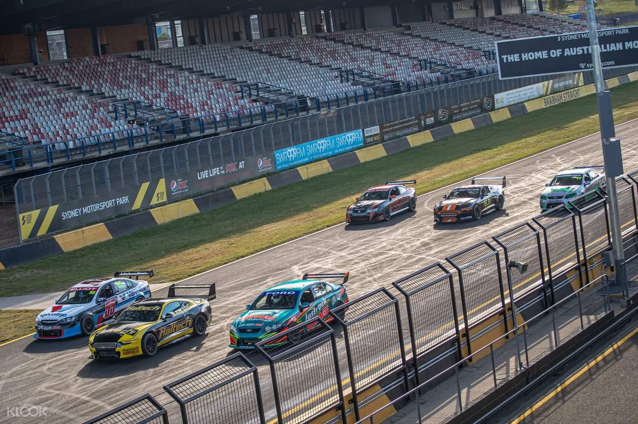 v8 experience race car sydney