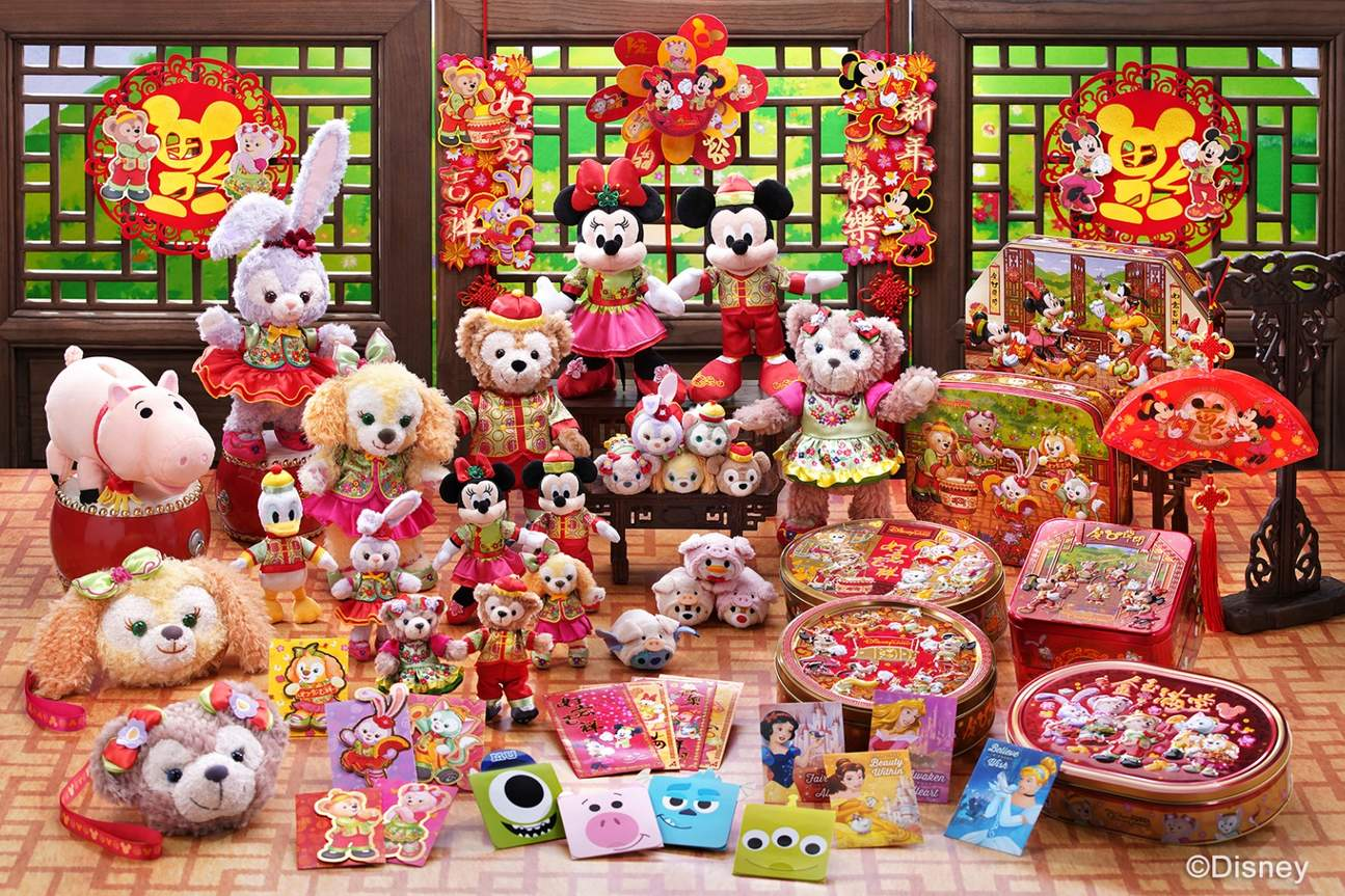 disneyland chinese new year themed gifts