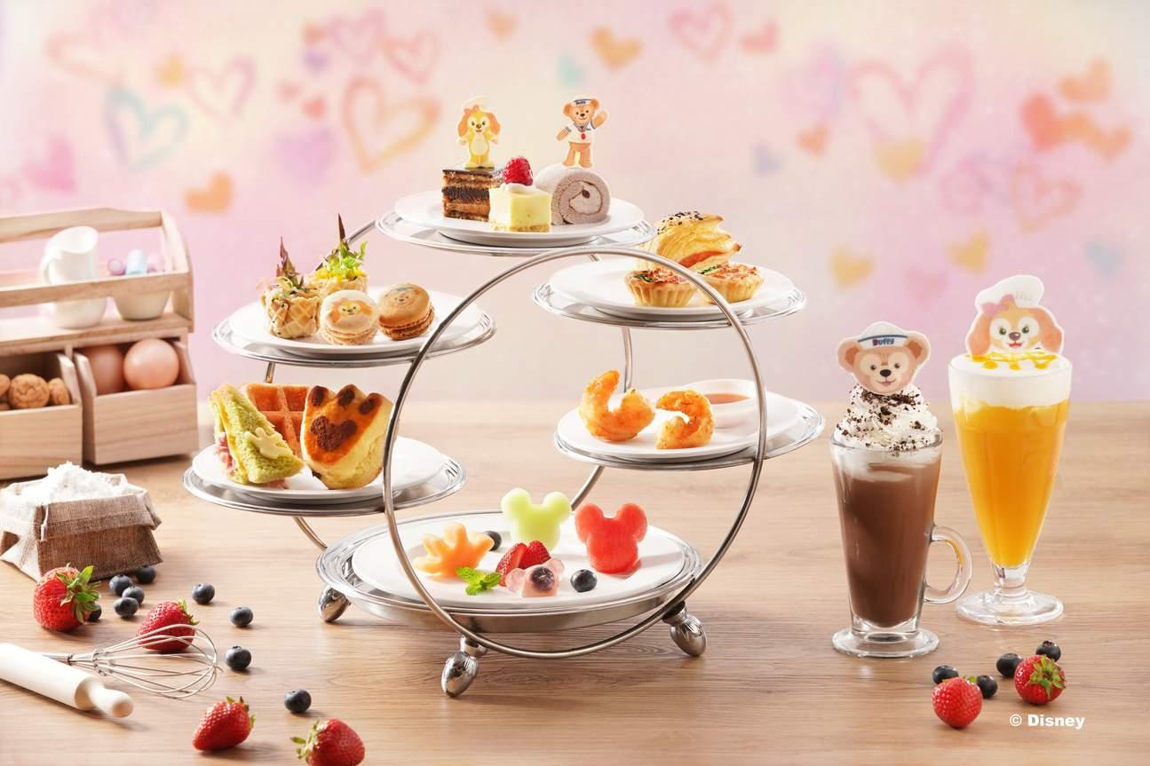 Afternoon Tea Set at Main Street Corner Cafe