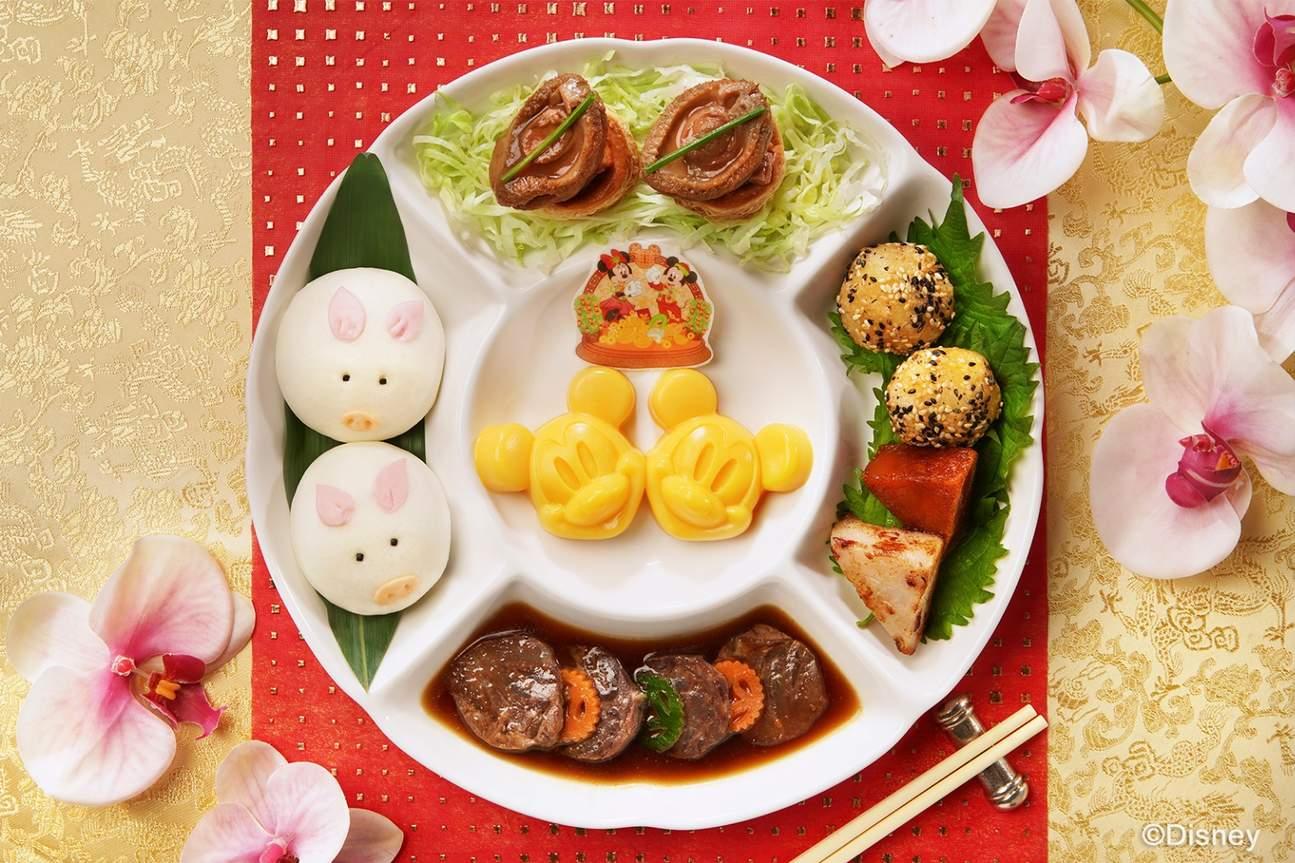 hong kond disneyland chinese new year food dining choices