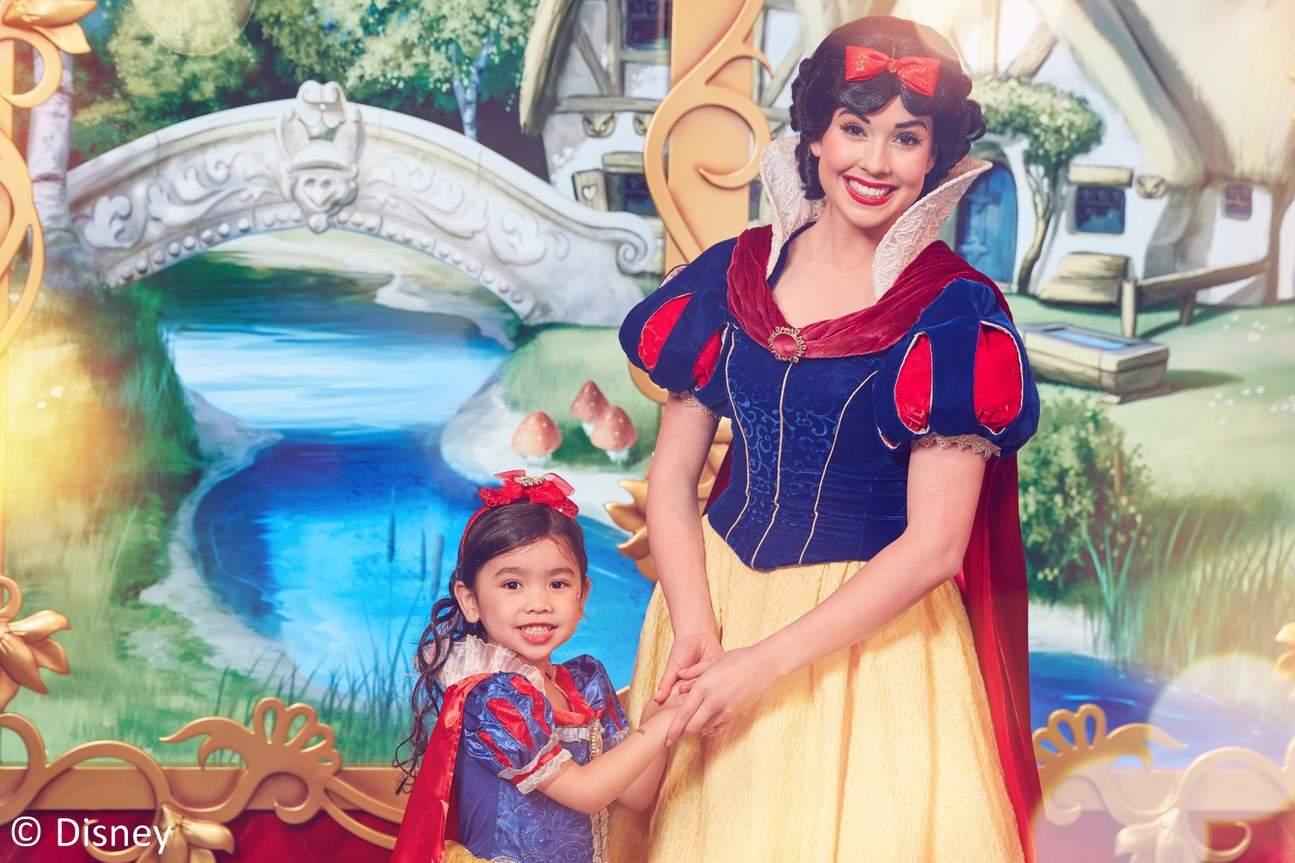 香港迪士尼公主體驗