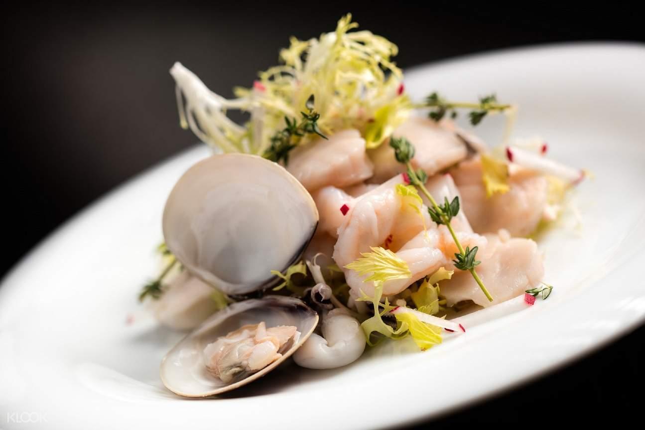 Seafood salad at Trattoria Il Mulino in Studio City