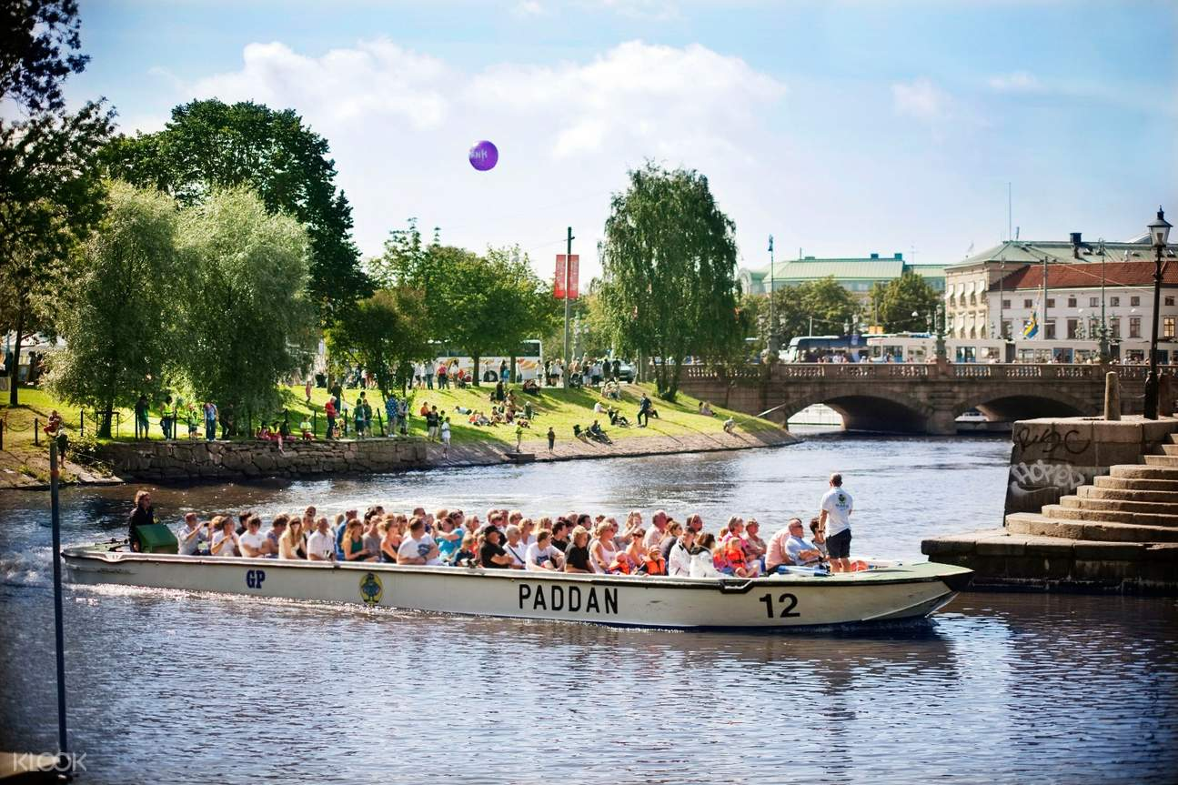 哥德堡遊船,哥德堡運河觀光,哥德堡市內游船,哥德堡遊船觀光