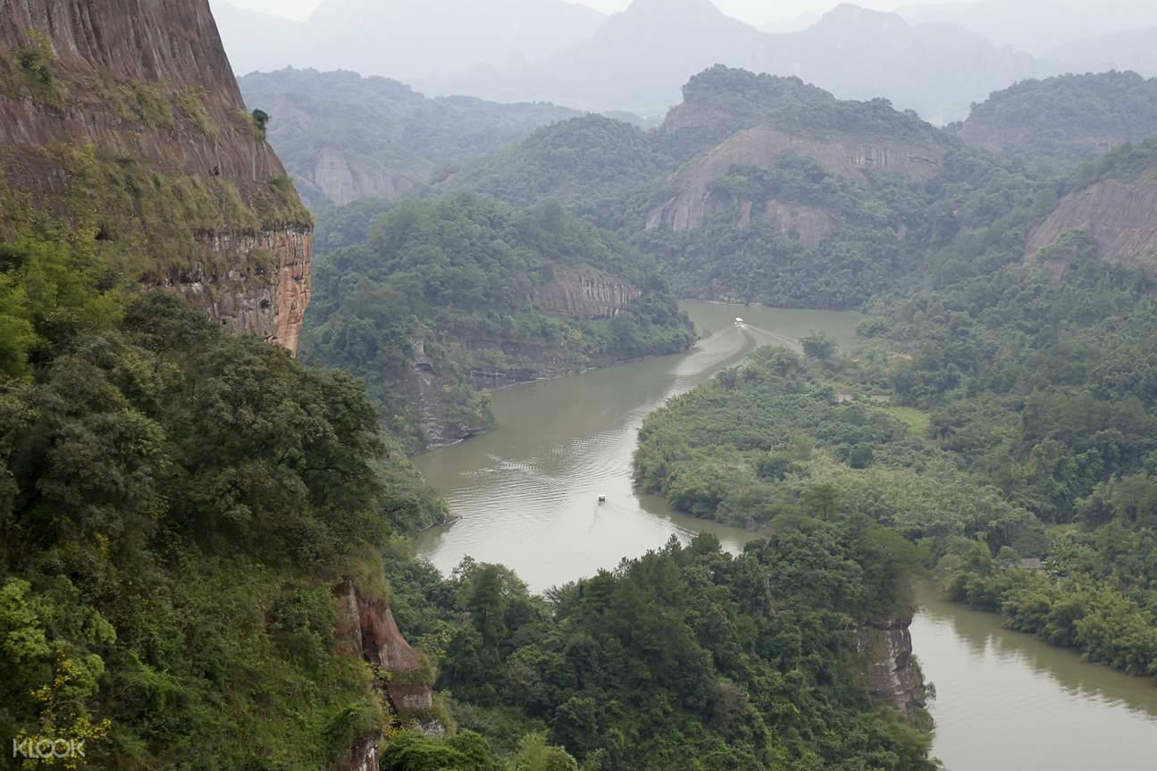 Shaoguan Danxia Mountain views