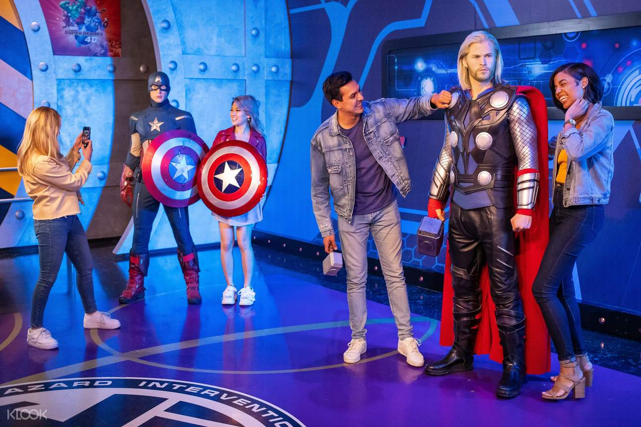 madame tussauds hollywood cost