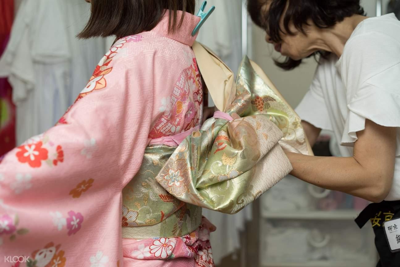 kimono experience nara deer park