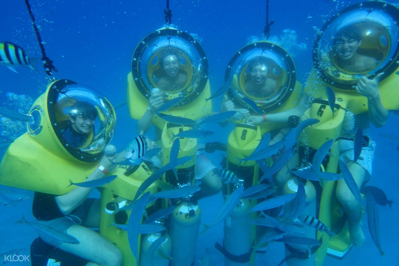 Submarine Scooter Underwater Adventure with Snorkeling Experience