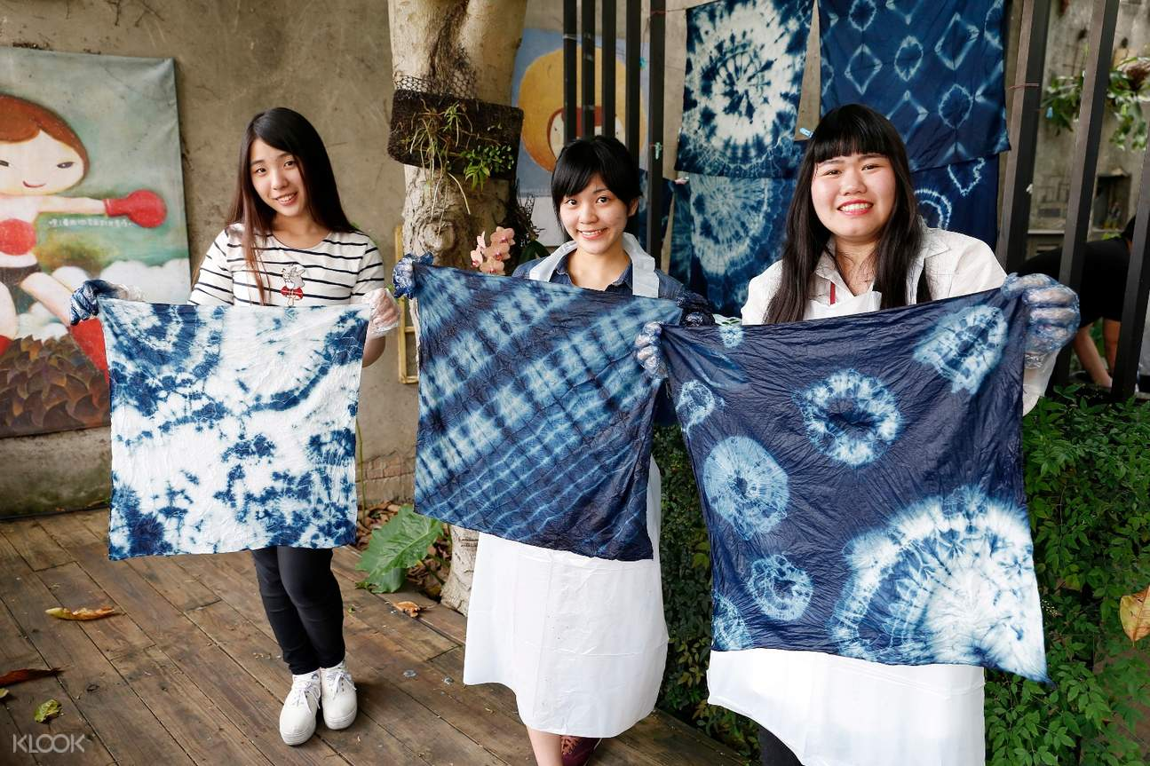 DIY indigo dyeing Sanxia