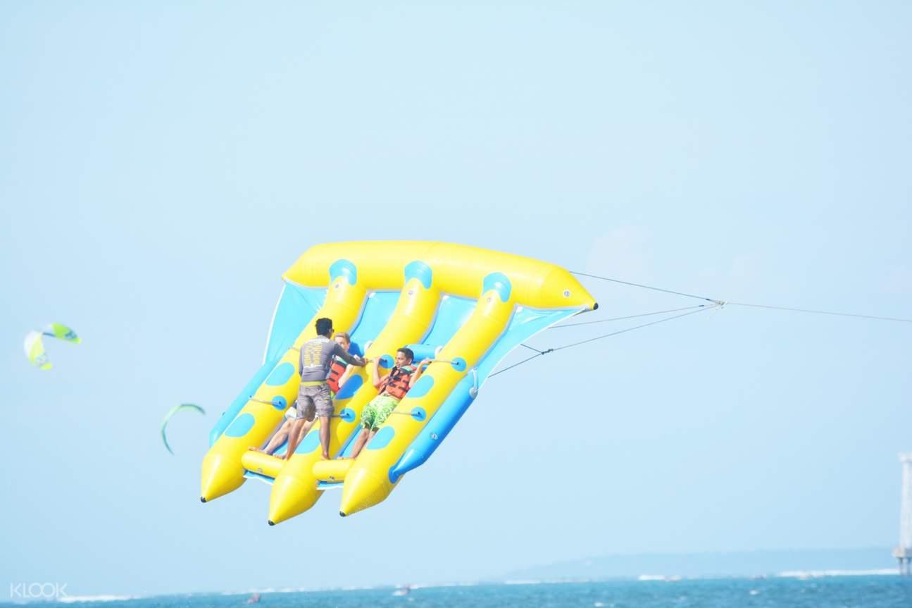 水上飛行氣泡床