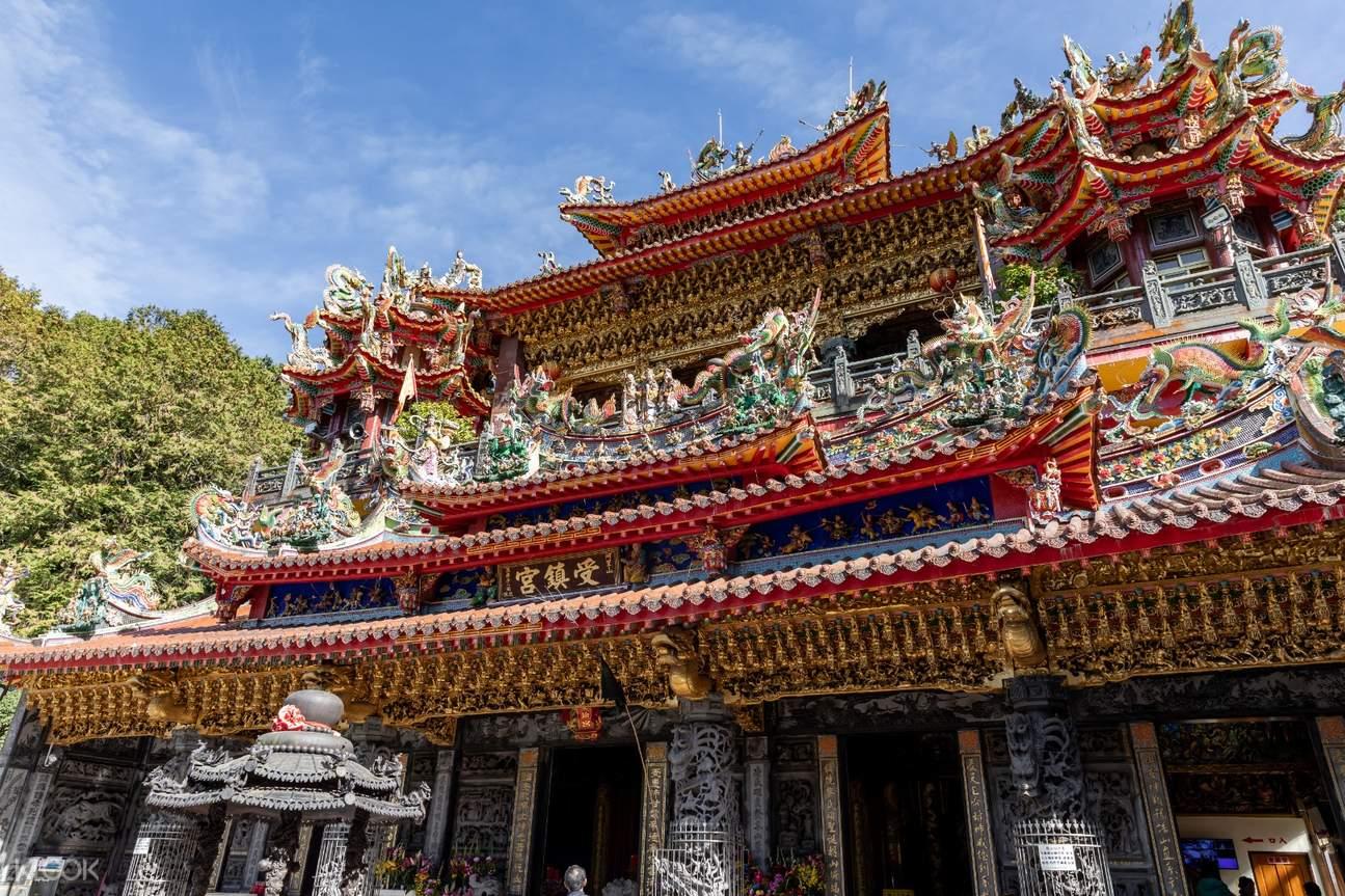 Alishan Shouzhen Temple exterior