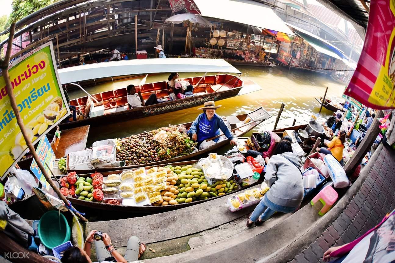 丹嫩沙朵水上市場一日遊