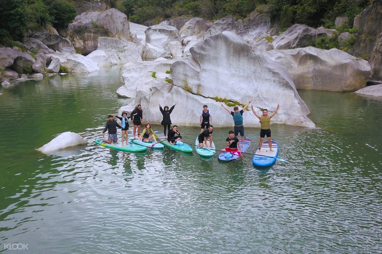 台東馬武窟溪立式划槳體驗
