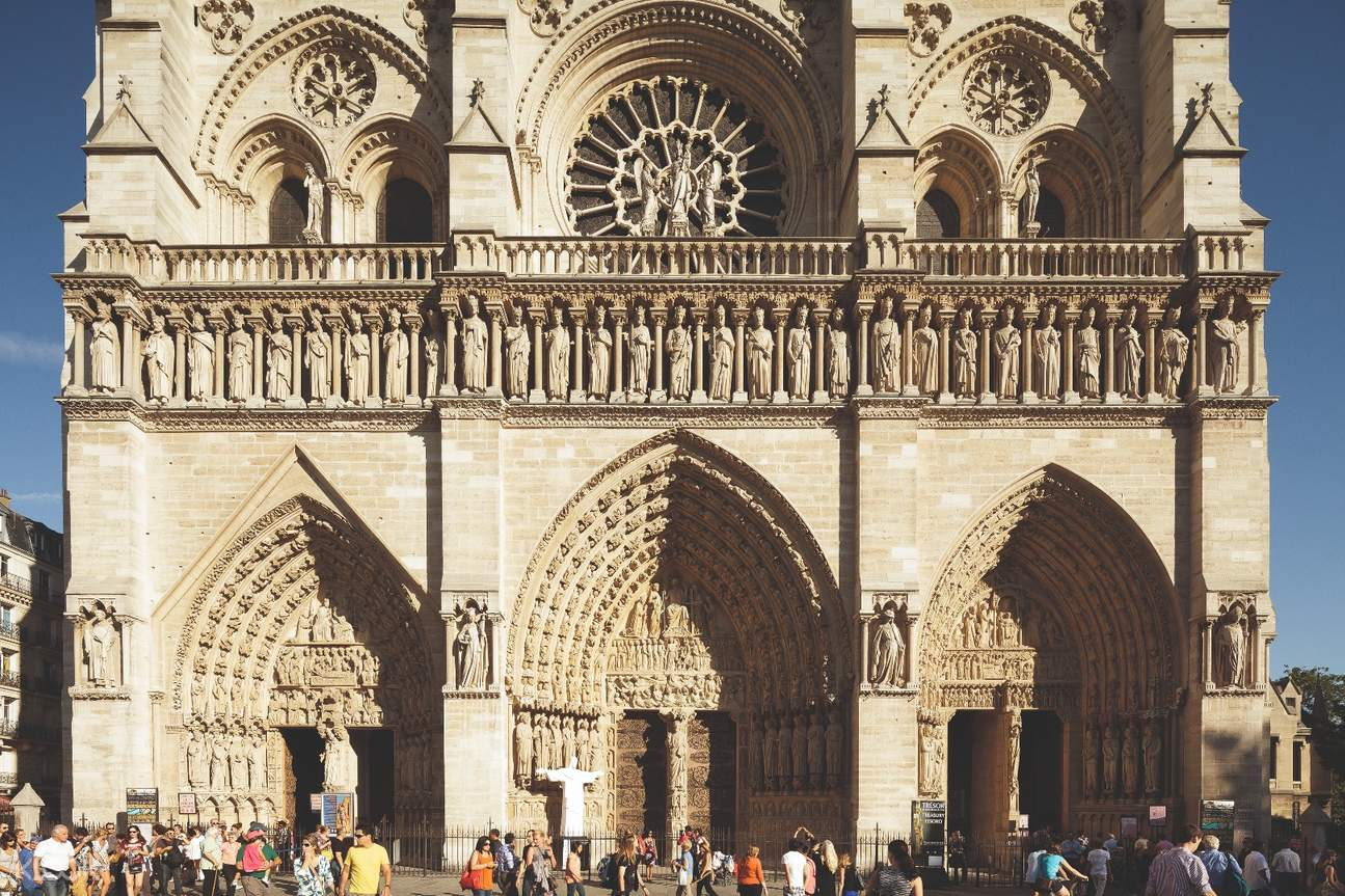 notre dame cathedral access