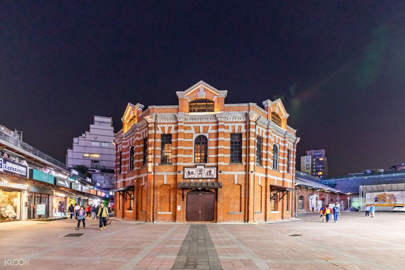 red house theater in ximending, taipei